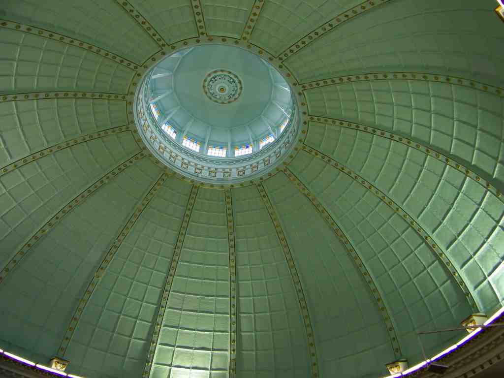 Frankfort NG church dome