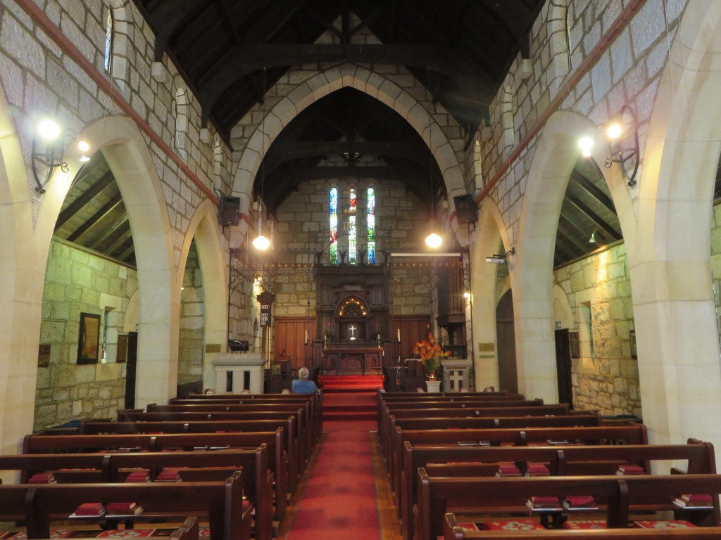 Greytown Anglican church inside