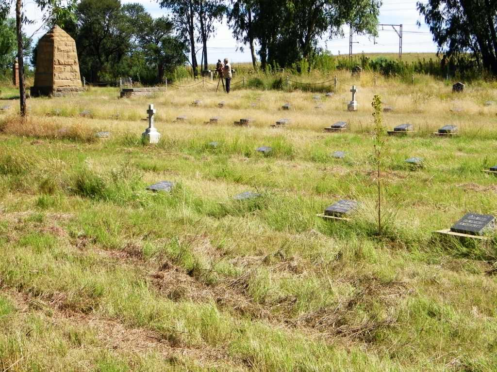 Koppies concentration camp cemetery