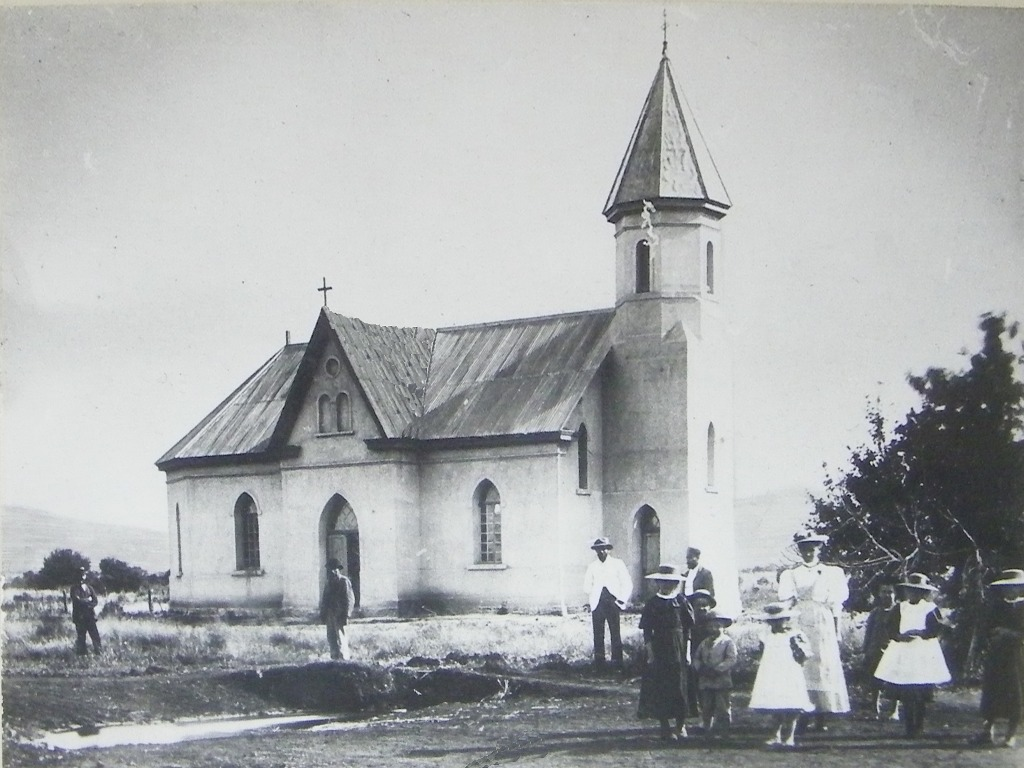 Kroondal old church in 1896