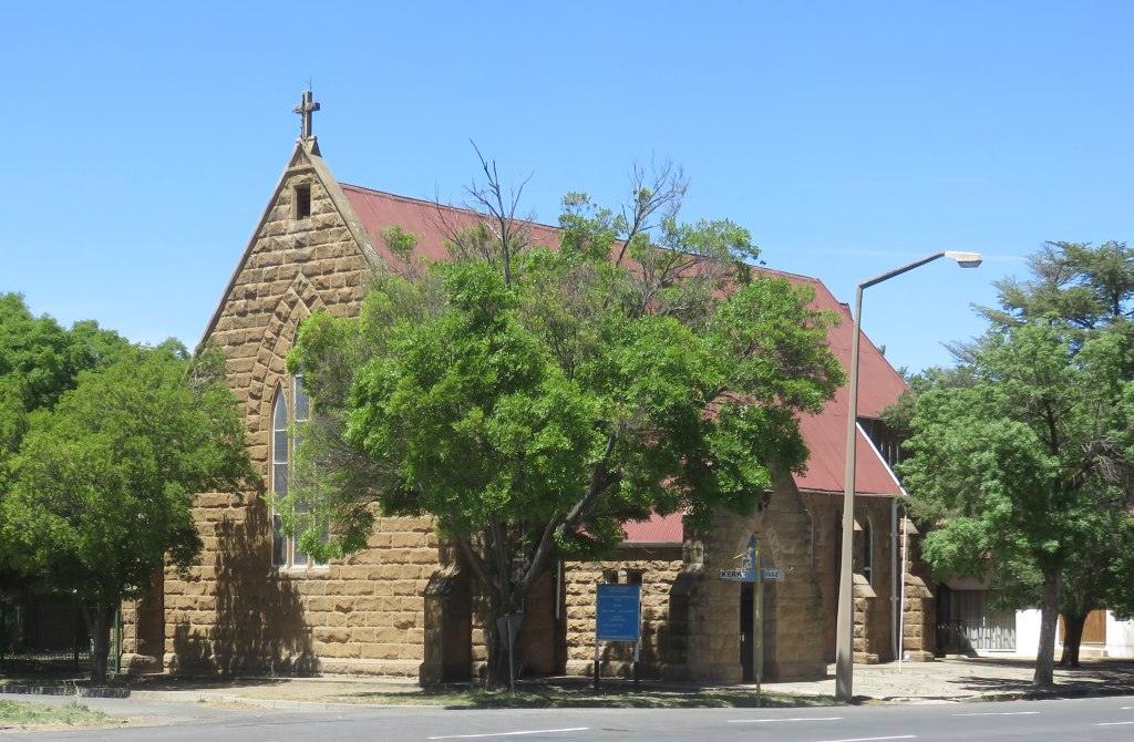 Kroonstad Anglican church