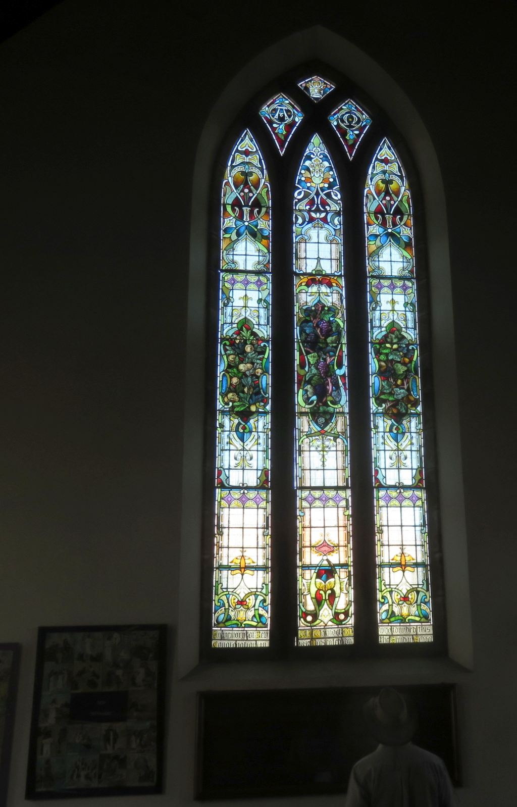 Kroonstad Presb church stained glass window