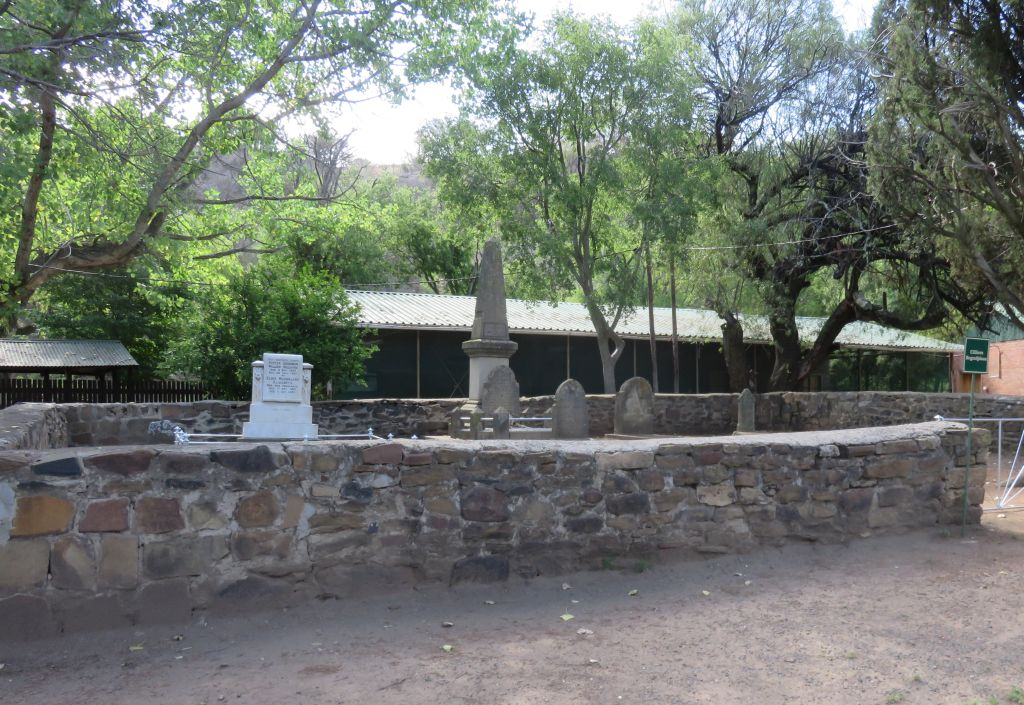 Lindley Doornkloof grave yard