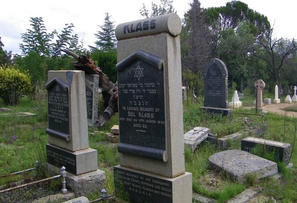 Lindley Jewish graves