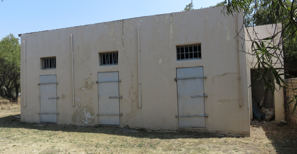 Oranjeville police station cells
