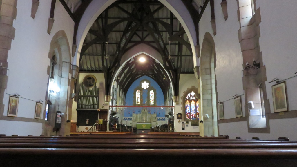 PE  St Mary inside