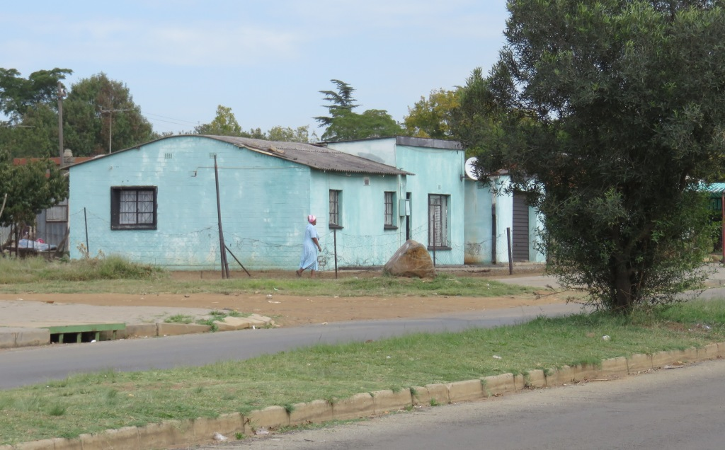Sharpeville rounded roofed house