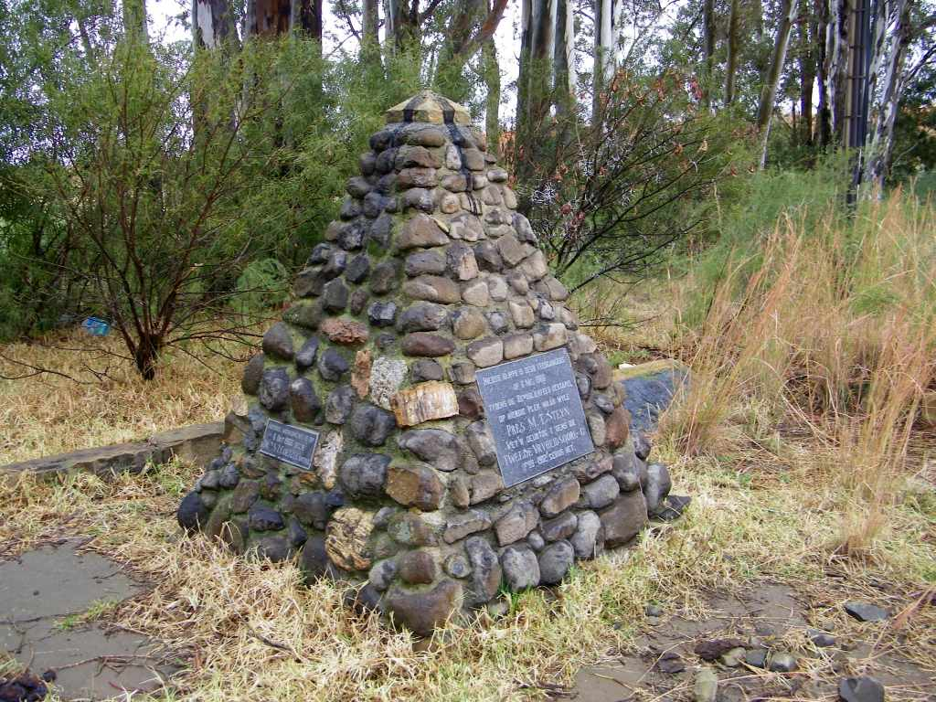 Steynsrus MT Steyn memorial