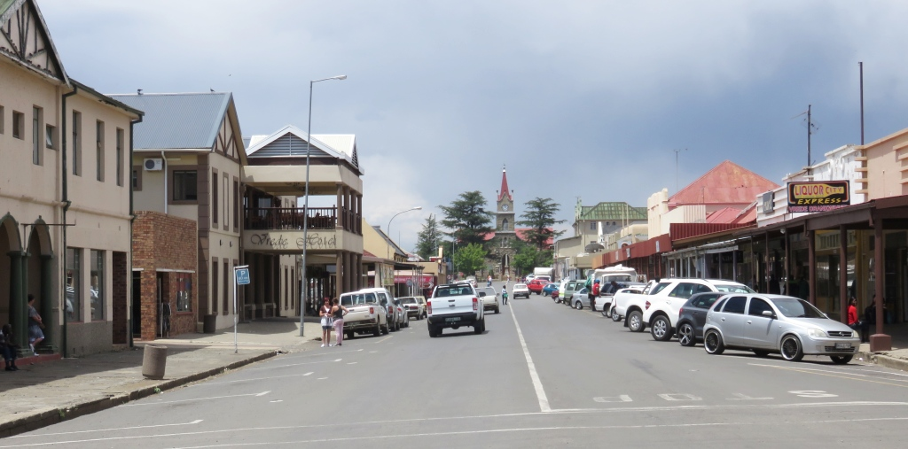 Vrede main street