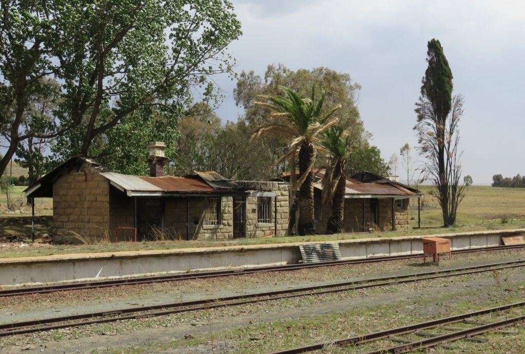 Vrede railway station