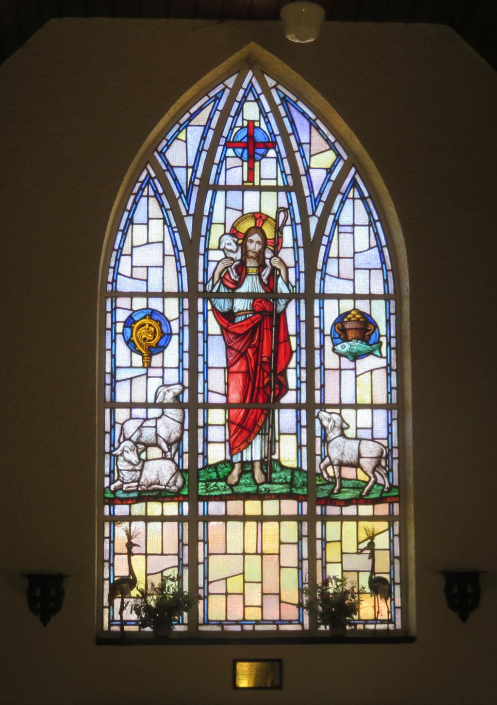 Wakkerstroom anglican church window