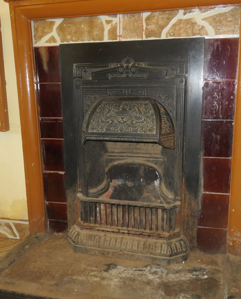 Wakkerstroom school fireplace
