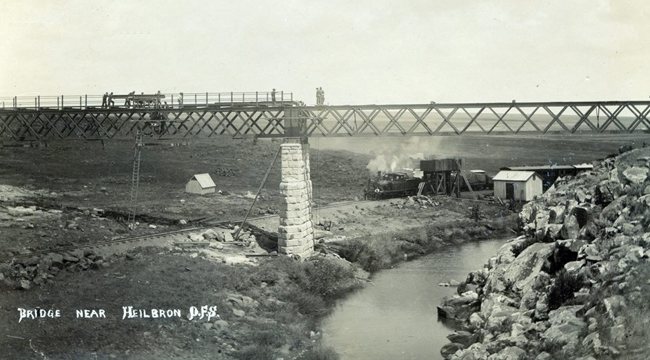 Weilbach steel bridge construction
