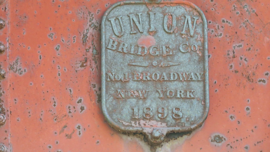 bridge name plate